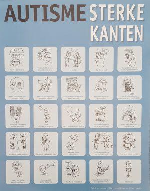 Top Poster Autisme sterke kanten (leerkrachten) - NVA regio Noord-Brabant #AQ36