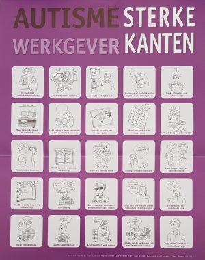 Voorkeur Poster Autisme sterke kanten - NVA regio Noord-Brabant #QA36